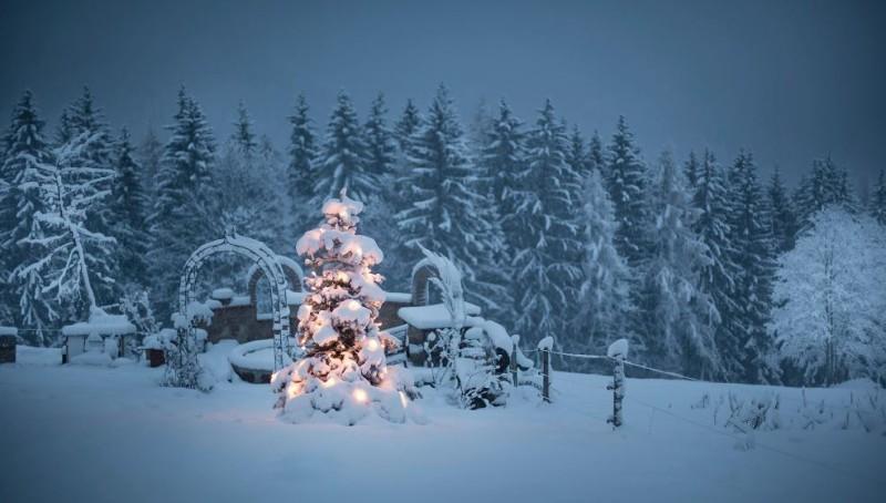 Weiße Weihnachten!