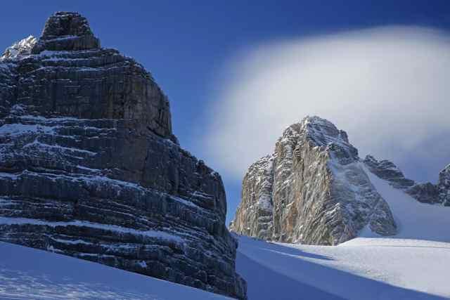 Hat der Berg einen Hut ...