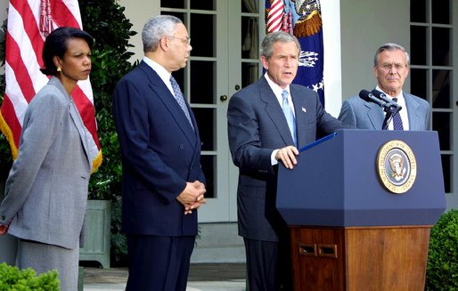 Präsident George W. Bush
