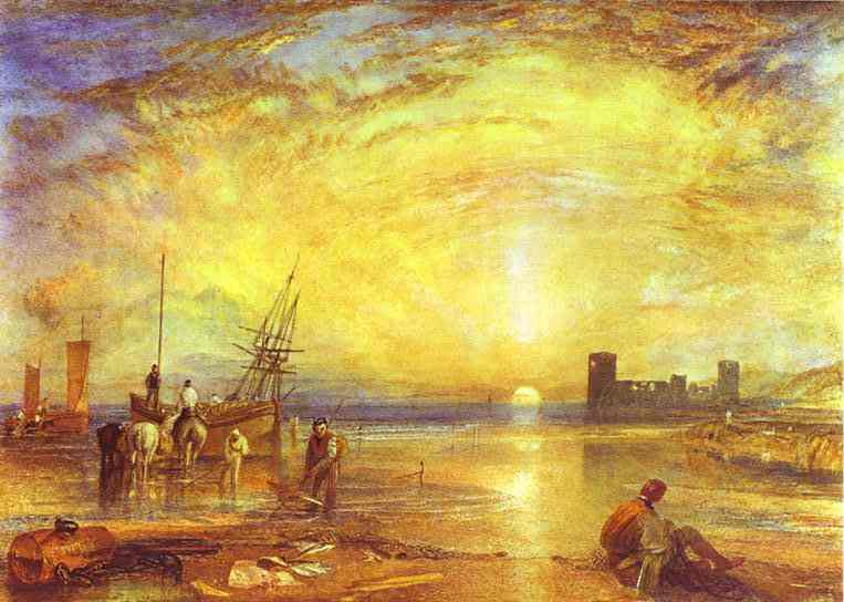William_Turner_-_Flint_Castle